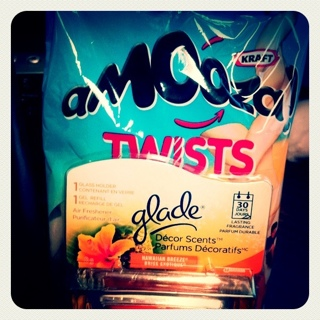 Free Amooza Cheese Twists and Very Cheap Glade