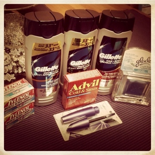 Almost Free Gillette, Glade, Advil, Covergirl & Free Tylenol