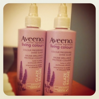 FREE Aveeno Active Naturals Living Colour - Colour Preserving Shine Glaze