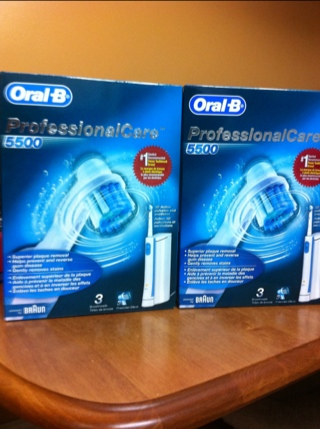 Super Cheap Oral B ProfessionalCare 5500