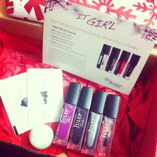 1 Cent Julep Maven Beauty Box - December It Girl Review