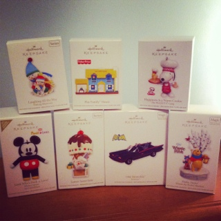 Boxing Day Shopping: Hallmark 2011 Keepsake Christmas Tree Ornaments 50% Off