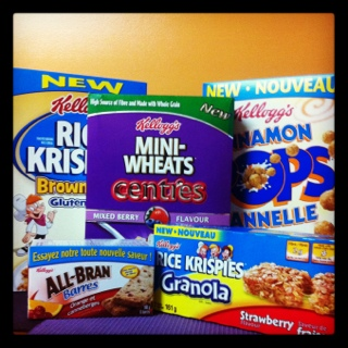 Amazing Free Kellogg's Holiday Gift Box 2011