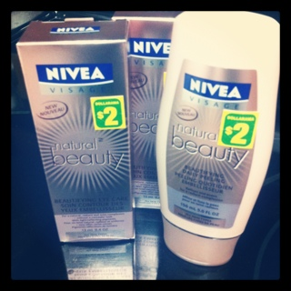 NIVEA Natural Beauty products at Dollarama.
