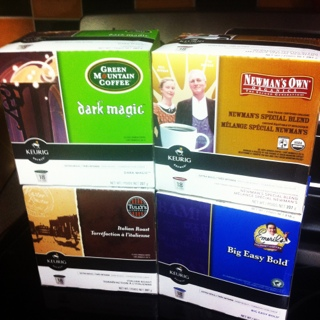 I won 4 boxes of Keurig K-Cups