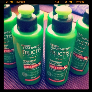 FREE Garnier Fructis Style Sleek & Shine Express Blow-Dry Milk