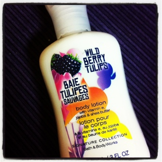 FREE Bath & Body Works Wild Berry Tulips Lotion