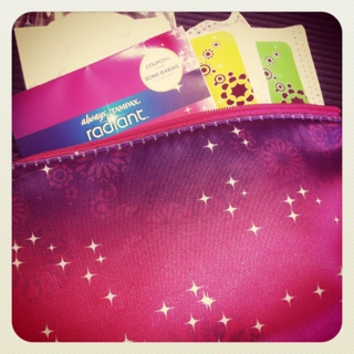 Totally Tampax Tuesday Radiant Sample